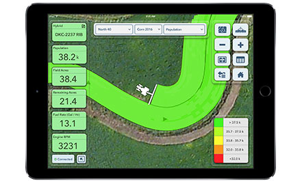 Climate FieldView Cab Planting