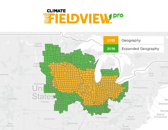 FieldView Pro Coverage Map